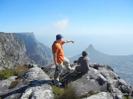 Climb Table Mountain or Lions Head for R350.00