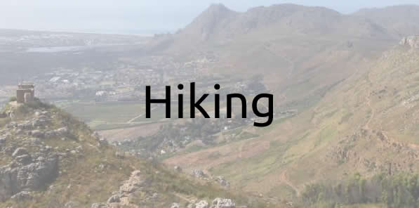 Hiking excursions with Cape Touring