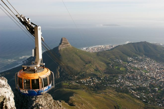 Table Mountain and Cableway